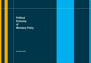 Political  Economy of Monetary Policy