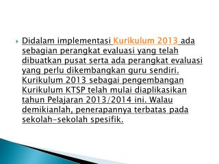 Contoh  RPP  dan silabus Kurikulum  2013,  attachement
