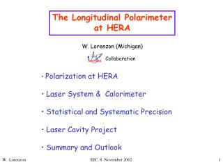 The Longitudinal Polarimeter at HERA