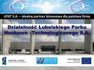 LPNT S.A. – idealny partner biznesowy dla państwa firmy