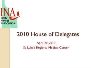 2010 House of Delegates