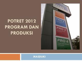 POTRET 2012 PROGRAM DAN PRODUKSI
