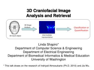 3D Craniofacial Image  Analysis and Retrieval
