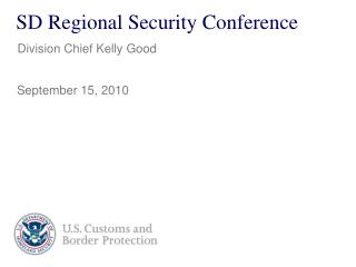 SD Regional Security Conference