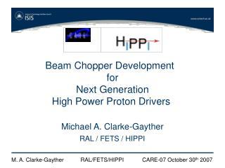 Beam Chopper Development   for Next Generation High Power Proton Drivers