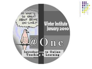 Introduction to Online Teaching & Learning