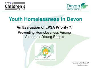 Youth Homelessness In Devon