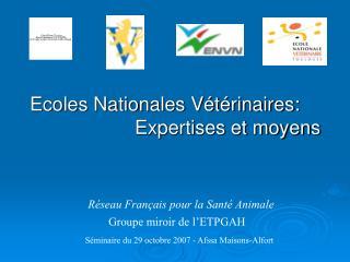 Réseau Français pour la Santé Animale