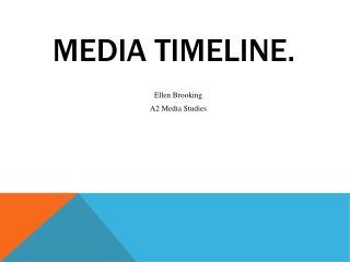 Media Timeline.