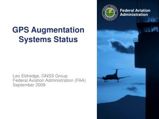 GPS Augmentation Systems Status