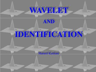 WAVELET AND IDENTIFICATION