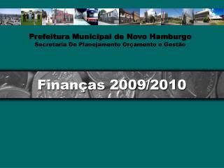 Finanças 2009/2010