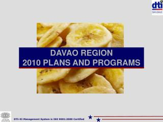 DAVAO REGION 2010 PLANS AND PROGRAMS