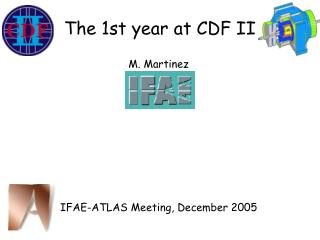 The 1st year at CDF II