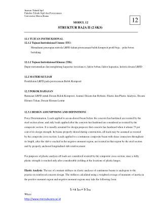 Jurusan Teknik Spil Fakultas Teknik Sipil dan Perencanaan