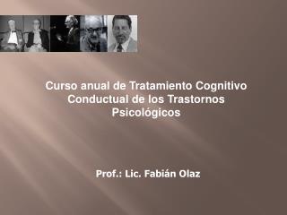 Prof.: Lic. Fabián Olaz