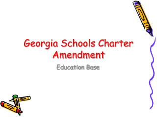 Georgia Schools Charter Amendment
