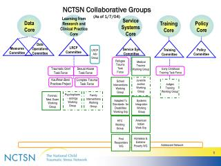 NCTSN Collaborative Groups (As of 1/7/04)