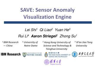 SAVE: Sensor Anomaly Visualization Engine