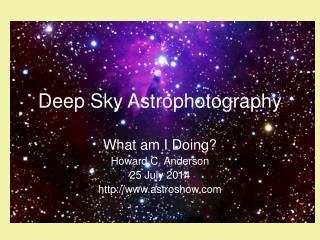 Deep Sky Astrophotography