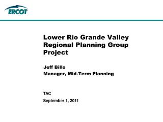 Lower Rio Grande Valley Regional Planning Group Project