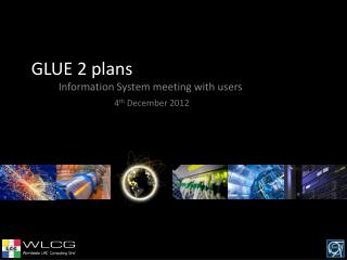 GLUE 2 plans