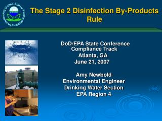 The Stage 2 Disinfection By-Products Rule