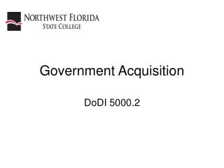 Government Acquisition