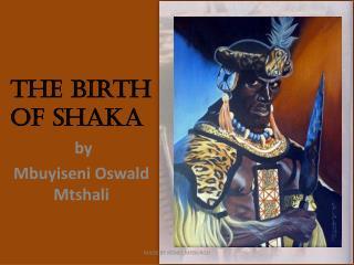 The Birth of Shaka