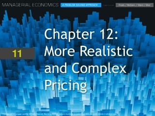 Chapter 12: More Realistic and Complex Pricing