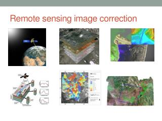Remote sensing image correction