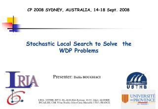 CP 2008 SYDNEY, AUSTRALIA, 14–18 Sept. 2008