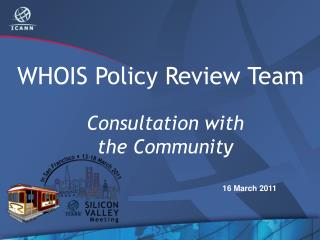 WHOIS Policy Review Team