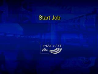 Start Job