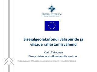 Sisejulgeolekufondi välispiiride ja viisade rahastamisvahend