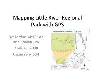 Mapping Little River Regional Park with GPS