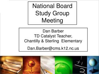 National Board Study Group Meeting