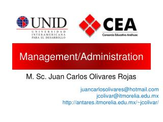 Management/Administration
