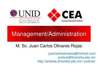 Management/Administration