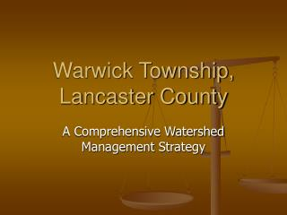 Warwick Township, Lancaster County