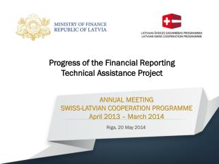 ANNUAL MEETING  SWISS-LATVIAN COOPERATION PROGRAMME April  2013 –  March  2014