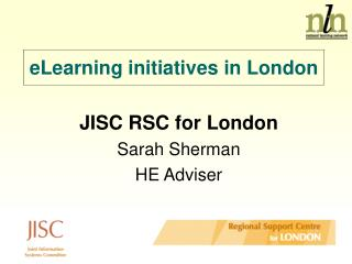 eLearning initiatives in London