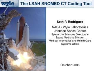 The LSAH SNOMED CT Coding Tool