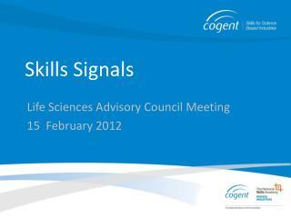 Skills Signals