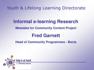 Youth & Lifelong Learning Directorate