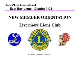 New Member Orientation 2009-2010