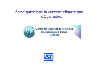 Some questions in current climate and CO 2  studies