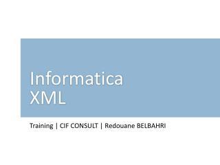 Informatica XML