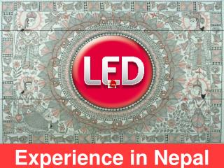 Experience in Nepal