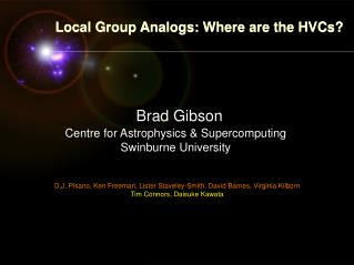 Local Group Analogs: Where are the HVCs?